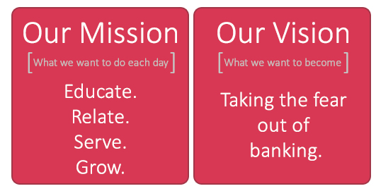 Our Mission. Our Vision.